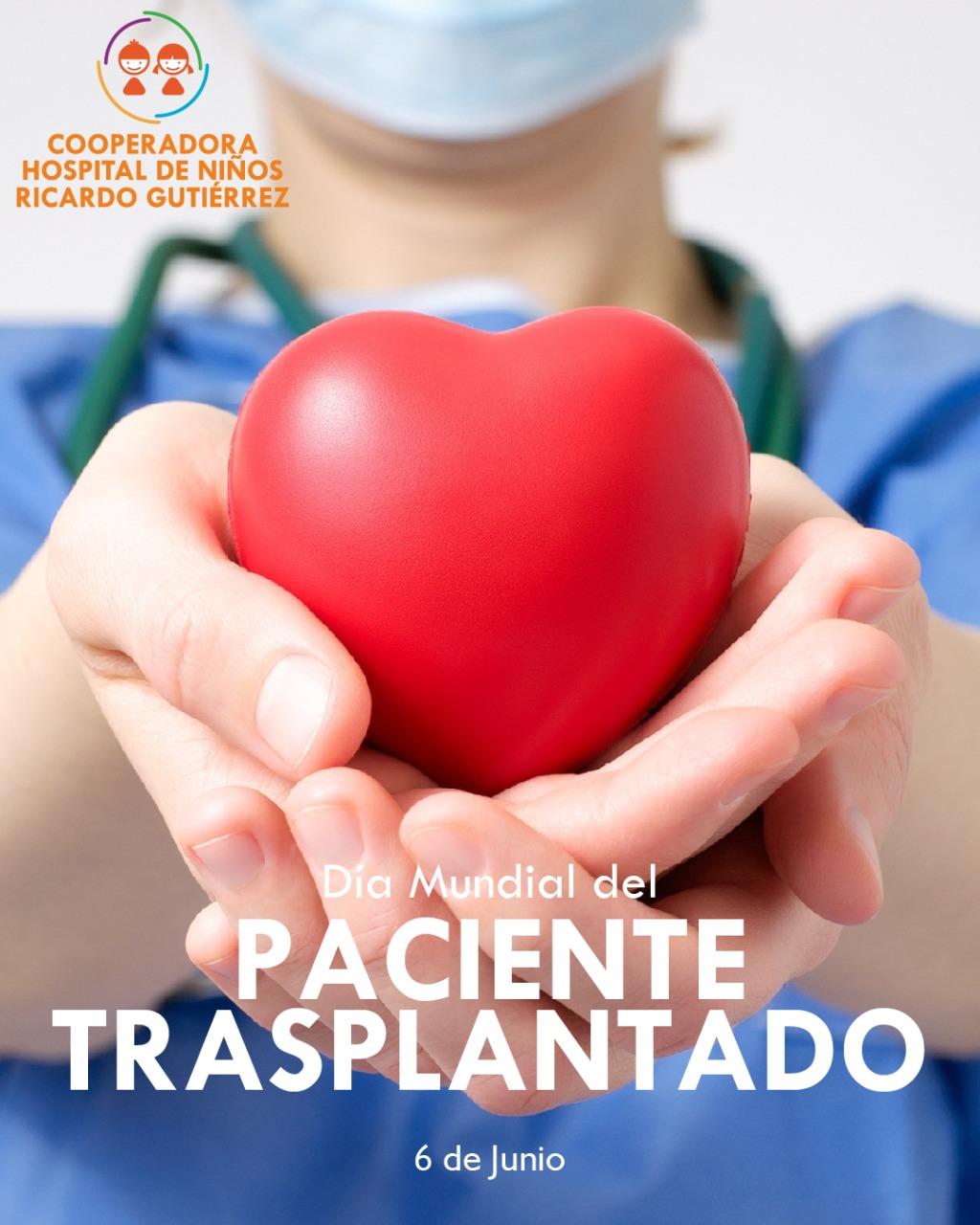 Día Mundial del Paciente Trasplantado